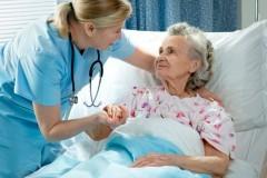 Я лечу стариков…