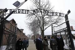 На территории Освенцима проходят мероприятия в память о жертвах фашизма