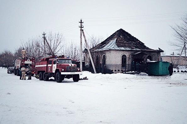 В Набережных Челнах сгорела часовня в честь блаженной Ксении Петербургской