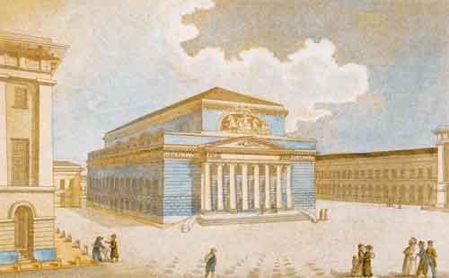 Гравюра 1825 года