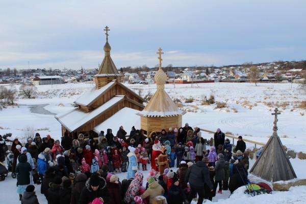 Рождество на Высоком, откуда до Неба ближе