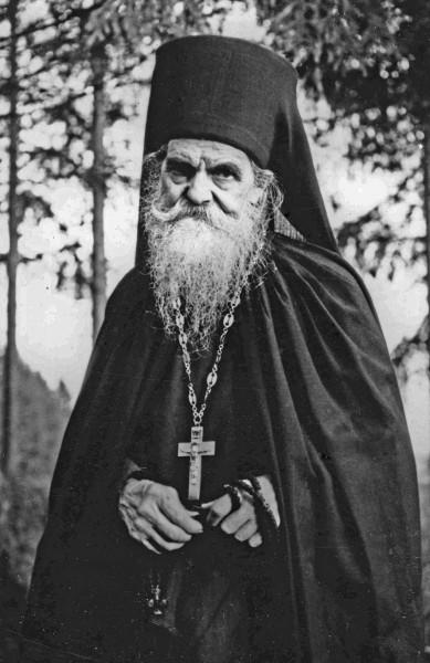 Иеромонах Лука. Папинниеми. 1950-е гг.
