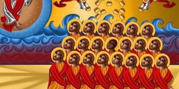 Казненных в Ливии коптов причислили к лику святых
