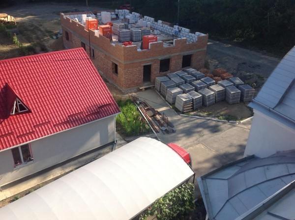 Строительство приюта. Фото orthodoxy.org.ua
