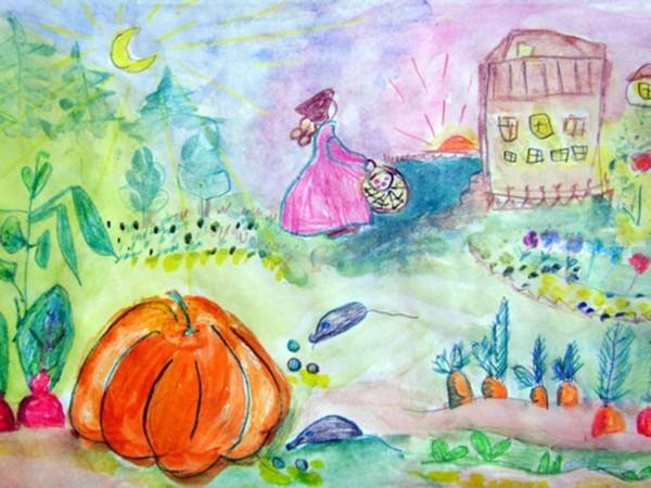 Вероника Долинина, 6 лет. Трудолюбивая Золушка