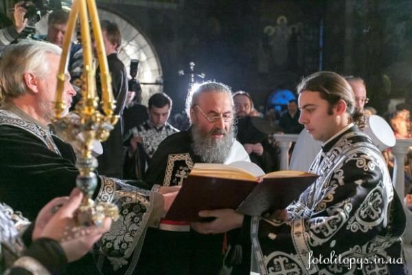 Митрополит Онуфрий призвал духовенство и мирян к усилению поста