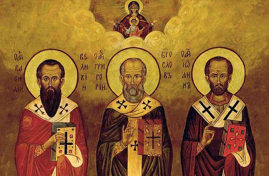 Церковь празднует Собор трех святителей