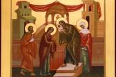 Церковь празднует Сретение Господне