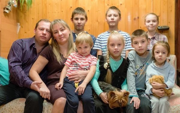 Мама восьмерых: Я думала, что два ребенка – много, не потянем
