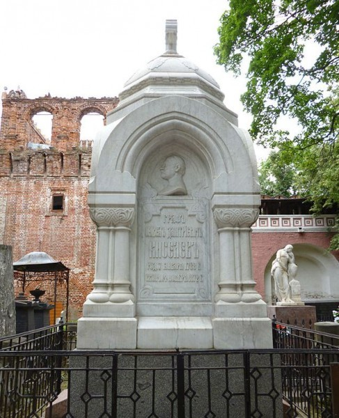 Могила графа Киселёва