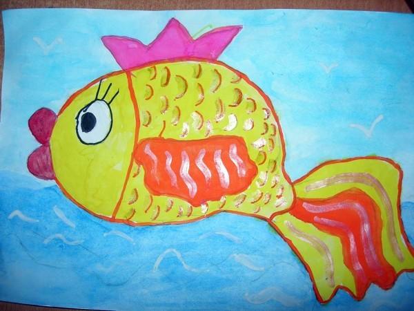 Саша Башлыков, 6 лет. Золотая рыбка