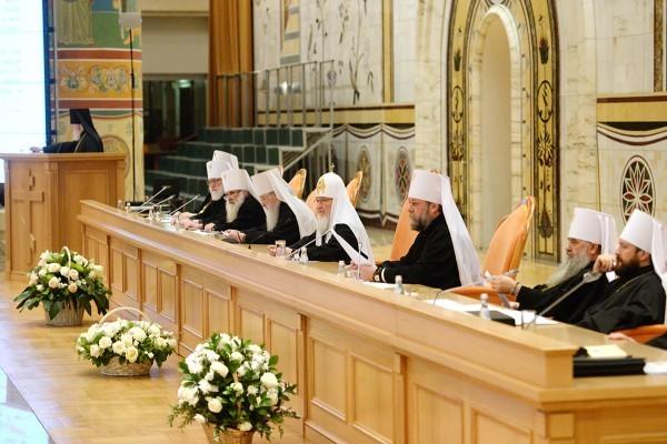 Завершилось Архиерейское Совещание Русской Православной Церкви