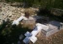 В Косово осквернили сербское кладбище