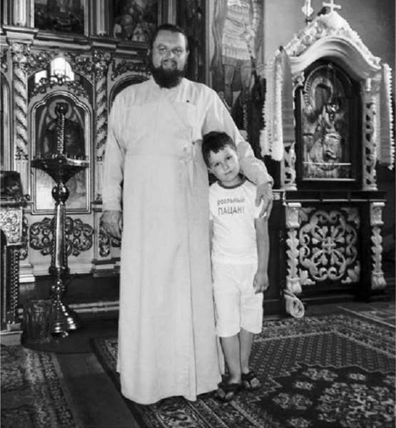"Протоиерей Михаил Варахоба. Фото: журнал ""Направо"""
