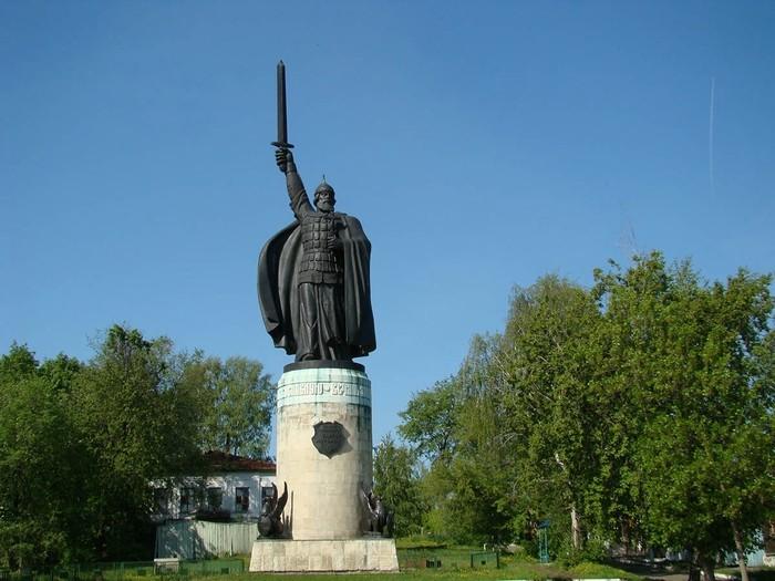 Памятник с ангелом Курильск Мемориальный комплекс из двух видов гранитов Обнинск