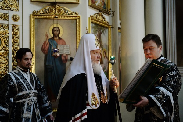 Патриарх Кирилл: Время Святой Четыредесятницы — время борьбы с самим собой