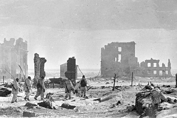 Центр города Сталинграда, 2 февраля 1943 года