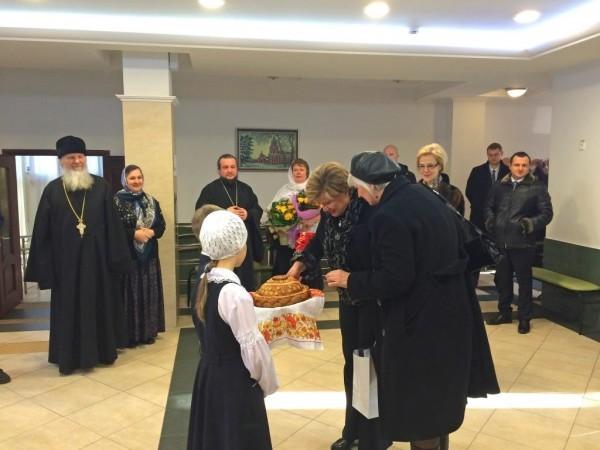 Первой леди Кипра представили Московскую Православную классическую гимназию  им. митрополита Платона (Левшина)