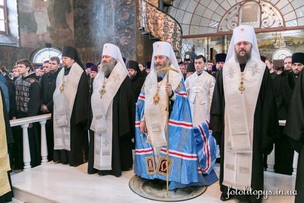 Митрополит Киевский Онуфрий: Кровь наших братьев и сестер взывает к небу о мире в нашей стране