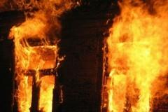 В результате пожара в церкви под Новгородом пострадал священник
