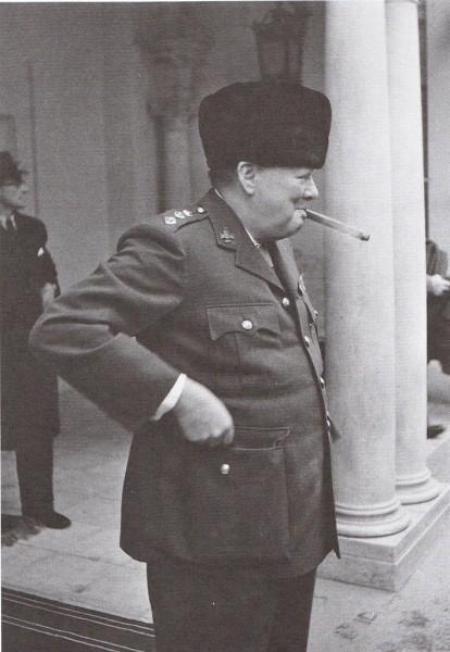 Черчиль в Ялте
