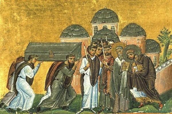 Церковь вспоминает перенесение мощей святителя Иоанна Златоуста