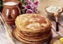 Масленица. 10 лучших рецептов