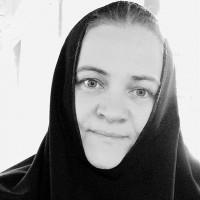 монахиня Евфимия (Аксаментова. Фото из её фейсбука