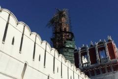 Богослужения в Новодевичьем монастыре не прерывались