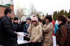 Выдача гуманитарной помощи – это боевое крещение. Как украинская церковь помогает переселенцам из Донбасса