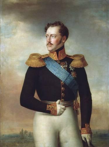 Николай I в общегенеральском мундире, 1843 год