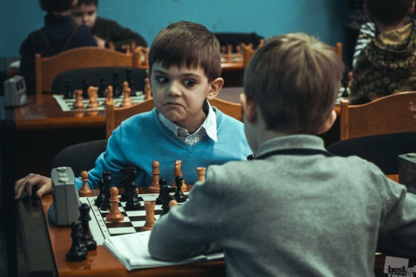 Достойный соперник. Городской детский турнир по шахматам. г. Оренбург Автор -  Анна Бажанова