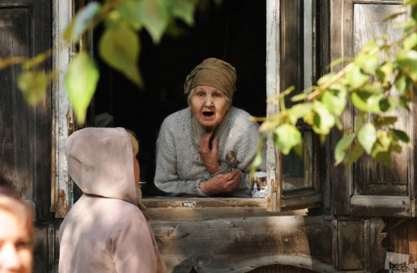 Удивление. Томск, неожиданная встреча в старой части города Автор - Андрей Шапран