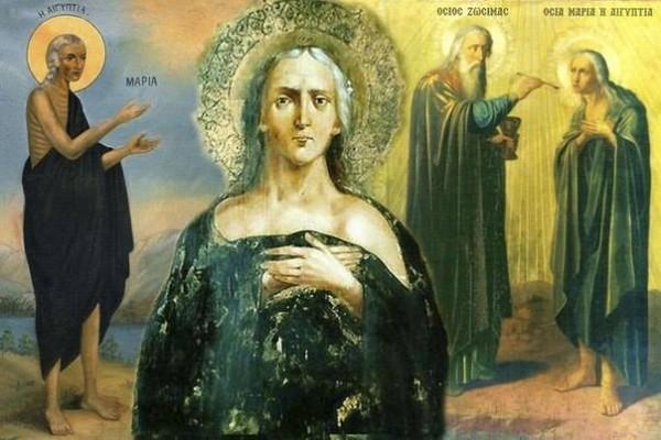 Церковь чтит память преподобной Марии Египетской