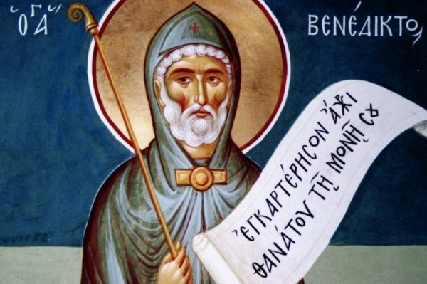 Церковь вспоминает преподобного Венедикта
