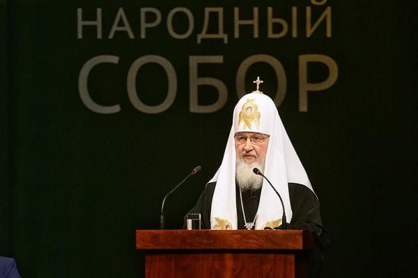 Патриарх Кирилл: Наступил подходящий момент для диалога о духовных ценностях с Западом