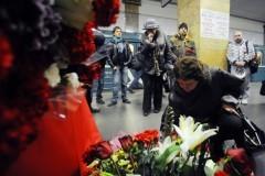 В Москве вспоминали жертв терактов в метро