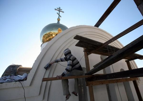 На северо-востоке Москвы прошел пикет в поддержку строительства храма