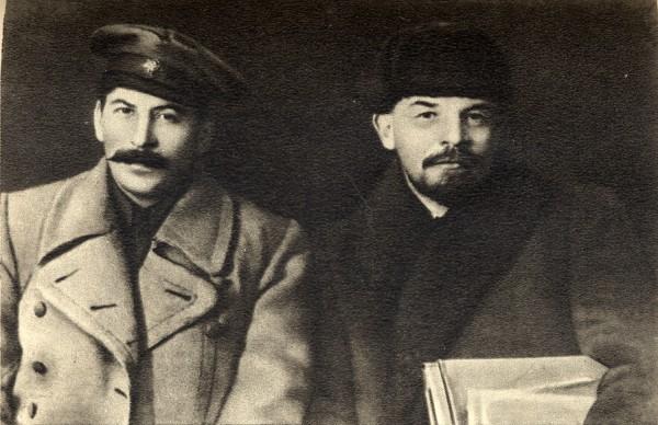 Сталин и Ленин в 1919 году