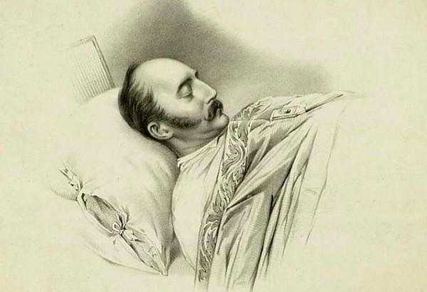 Николай I на смертном одре