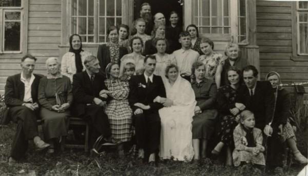 Свадьба о. Владимира и матушки Натальи. Фото: блог протоиерея Игоря Прекупа