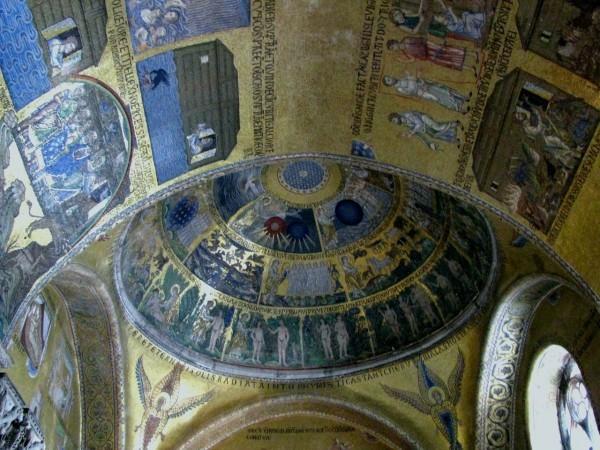 Дни творения. Мозаика Собора Сан-Марко в Венеции. Фото: Википедия