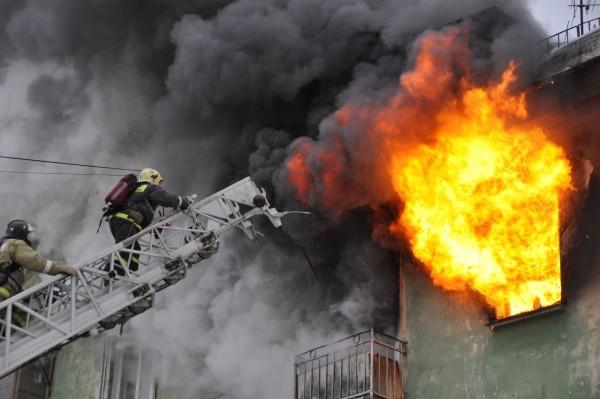 Пожар 27 февраля Ленина 16 285