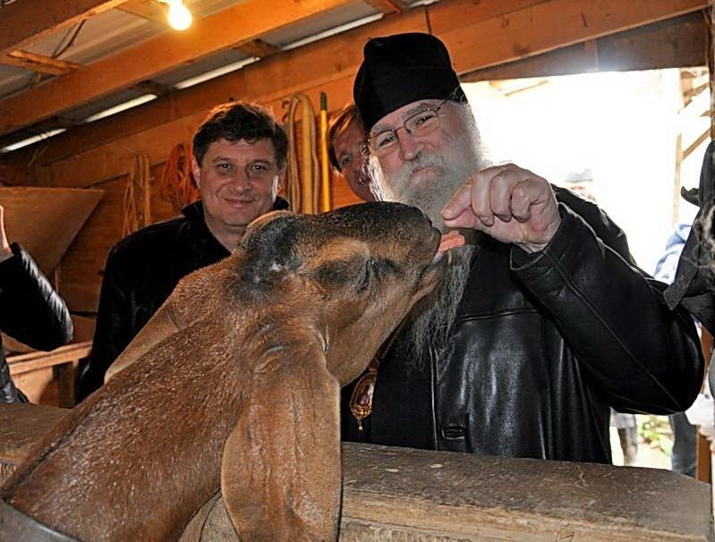 Вл. Георгий в Крестовоздвиженском монастыре