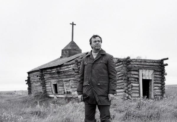 Часовня на Индигирке (единственная за полярным кругом) Валентин Григорьевич Распутин, 1985 годю Фото Бориса Дмитриева