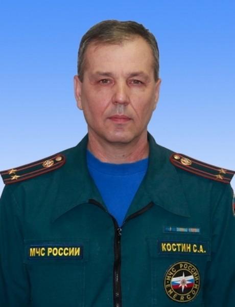 Подполковник Сергей Костин