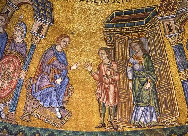 13.Потифар ставит Иосифа Домоправителем своим. (Быт.39. 4)