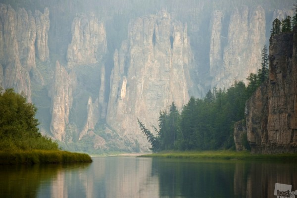 Сиинэ Ресаублика Саха (Якутия). река Синяя (Сиинэ). Август 2014 г. Автор - Сергей Газетов