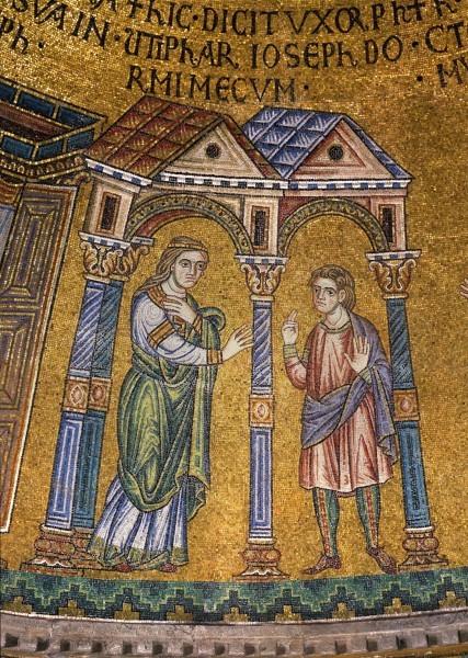 14.Жена Потифара обращает взор свой (соблазняется) на Иосифа. (Быт. 39.7).