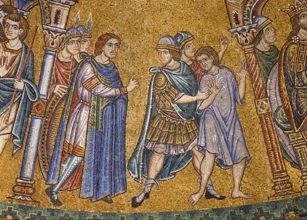 17.Потифар заключает Иосифа в темницу (Быт. 39. 20).
